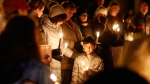candle light vigil for Sandy Hook Elementary victims